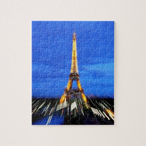 La torre Eiffel París Francia Puzzle Con Fotos