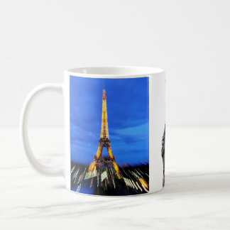 La torre Eiffel París Francia Taza Clásica