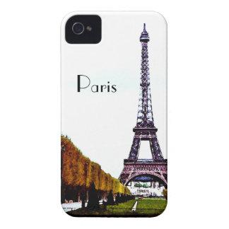 La torre Eiffel - París iPhone 4 Case-Mate Cárcasas