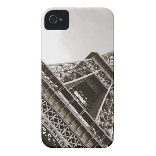 La torre Eiffel, París iPhone 4 Carcasa