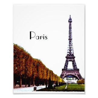 La torre Eiffel - París Impresiones Fotograficas