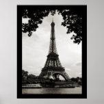 La torre Eiffel, París - poster