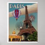 La torre Eiffel Poster