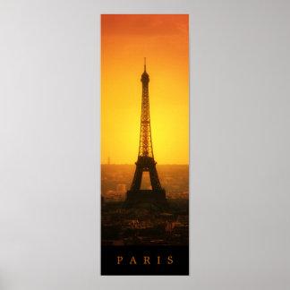 La torre Eiffel - poster