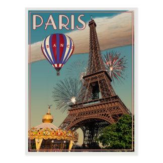 La torre Eiffel Postales