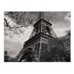 La torre famosa postal