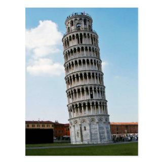 La torre inclinada de Pisa 2 Postal