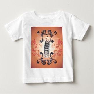 La torre inclinada de Pisa T-shirts