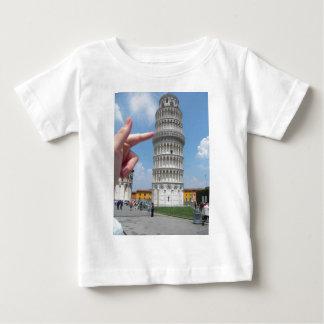 la torre inclinada de Pisa Tee Shirts