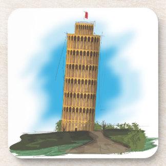 La torre inclinada de Pisa Posavaso