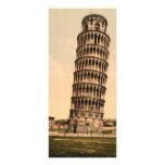 La torre inclinada de Pisa, Toscana, Italia Lona Personalizada