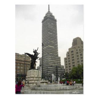 La Torre Latinoamericana desde Bellas Artes Postcard