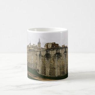 La torre, Londres, fotografía histórica del viaje Taza De Café