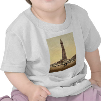 La torre obra clásica Photochrom de Blackpool In Camiseta