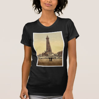 La torre obra clásica Photochrom de Blackpool In
