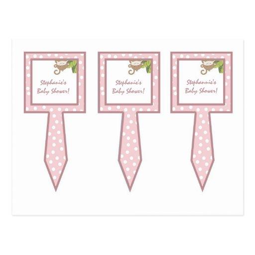 La torta de 3 tazas escoge rosa de la jirafa de la postal
