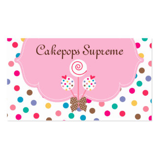 La torta hace estallar el corazón rosado de los tarjetas de visita