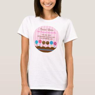 La torta hace estallar la camiseta de la panadería