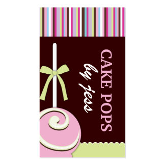 La torta hace estallar tarjetas de visita