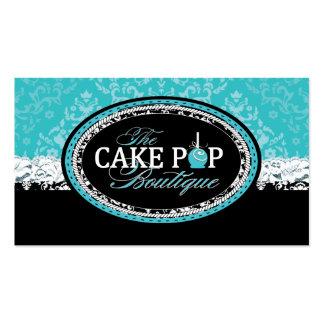 La torta intrépida del vintage hace estallar tarje
