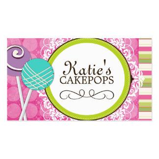 La torta linda y juguetona hace estallar tarjetas  tarjetas de visita