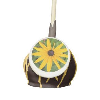 La torta observada negro de la flor de Susan hace