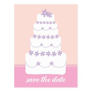 La Torta-Reserva del boda la fecha Postales