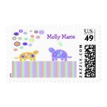 La tortuga burbujeante personalizó sellos