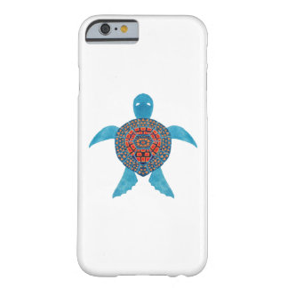 La tortuga de mar tribal funda para iPhone 6 barely there