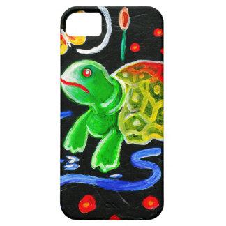 La tortuga enrrollada iPhone 5 funda