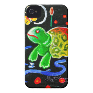 La tortuga enrrollada Case-Mate iPhone 4 protector