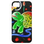 La tortuga enrrollada iPhone 5 Case-Mate fundas