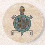 La Tortuga - tortuga Posavasos De Arenisca