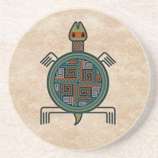 La Tortuga - Turtle Sandstone Coaster