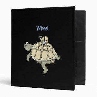 """La tortuga y el caracol """"abrochan encima"""" de carpeta 1"""""""