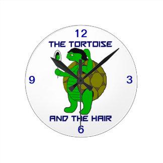 La tortuga y el reloj del pelo