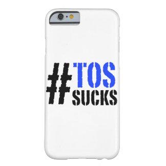 La TOS de Hashtag chupa la caja del iPhone 6 Funda Para iPhone 6 Barely There