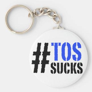 La TOS de Hashtag chupa llavero