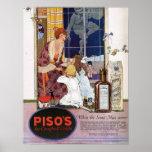 La tos Medicine (1921) de Piso Posters