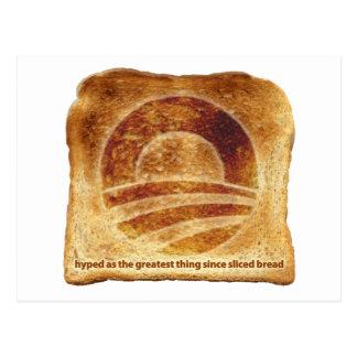 La tostada de Obama Postal