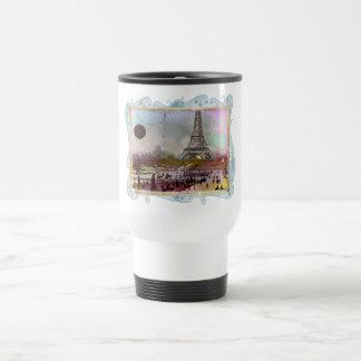 La Tour Eiffel 15 Oz Stainless Steel Travel Mug