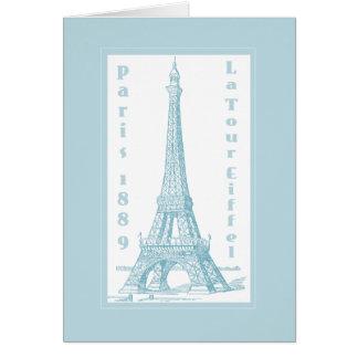 La Tour Eiffel 1889 Card