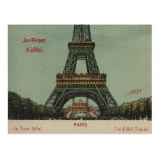 la Tour Eiffel, 1928 - Postcard