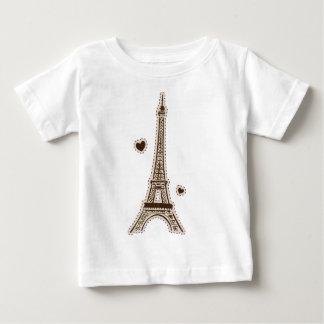 La tour Eiffel Baby T-Shirt