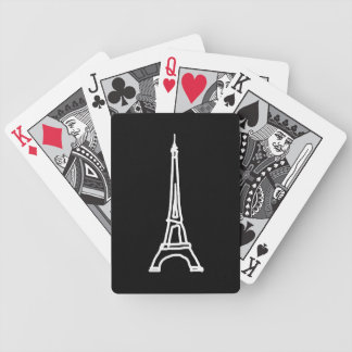 la tour Eiffel Bicycle Playing Cards