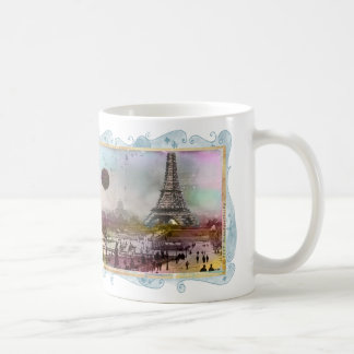 La Tour Eiffel Collage Art Mug Cup