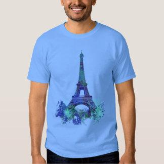 La tour Eiffel  color splash T Shirt