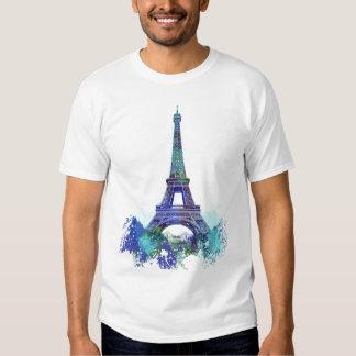 La tour Eiffel  color splash T-shirt
