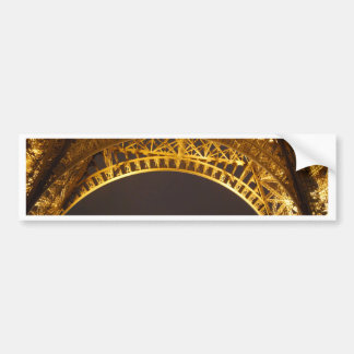 La Tour Eiffel, Eiffel Tower - Paris, France Bumper Sticker