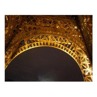 La Tour Eiffel, Eiffel Tower - Paris, France Postcard